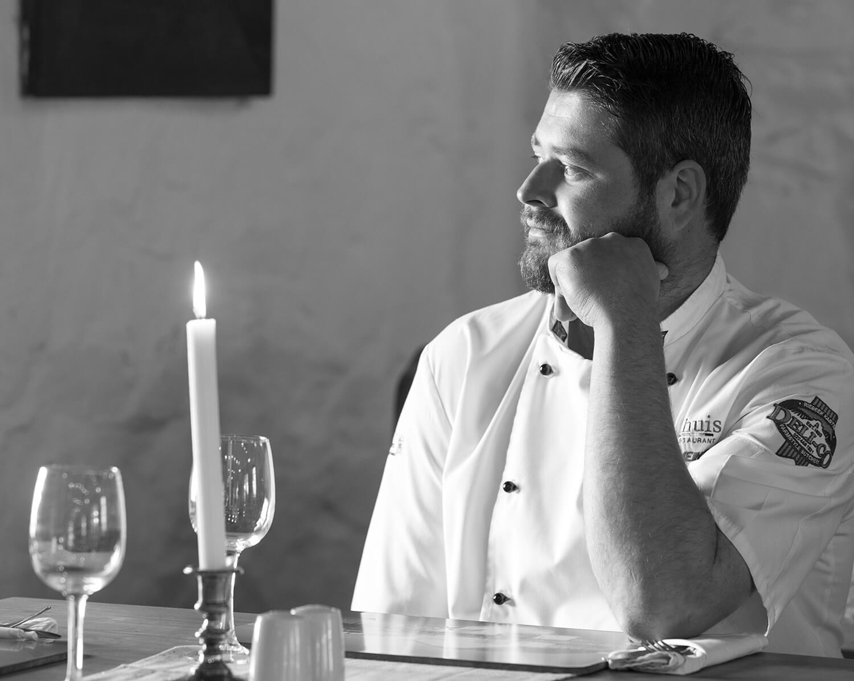 Executive Chef Stefan Meintjes Damhuis Restaurant