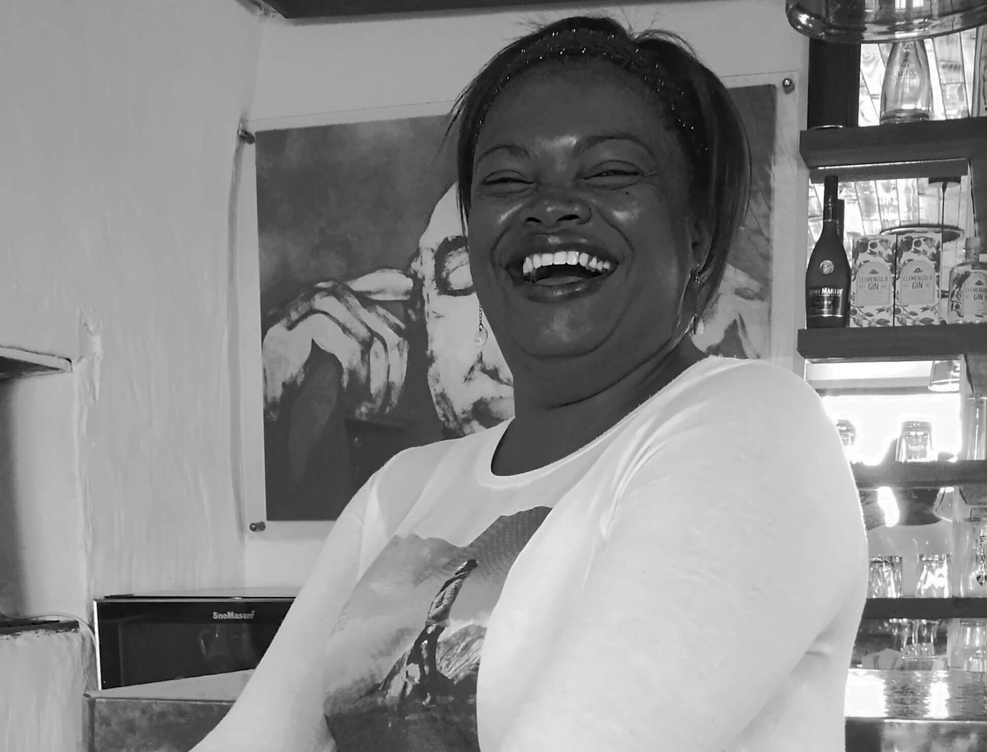 Damhuis Restaurant Manager Zelda Williams
