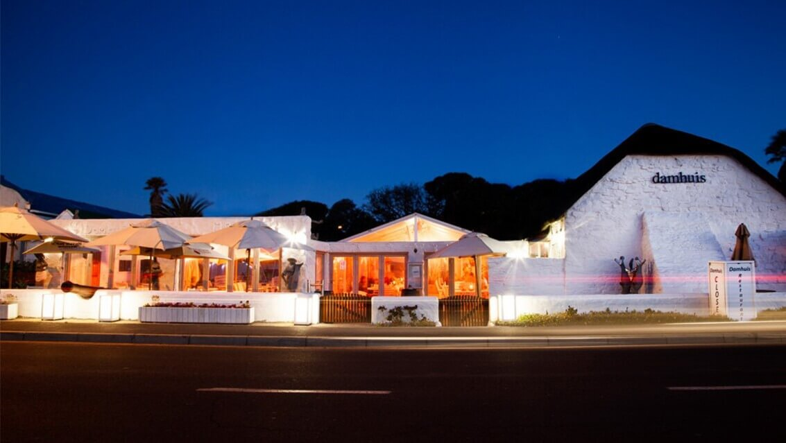 Damhuis Restaurant Seafood and Traditional South African Cuisine Melkbosstrand West Coast South Africa