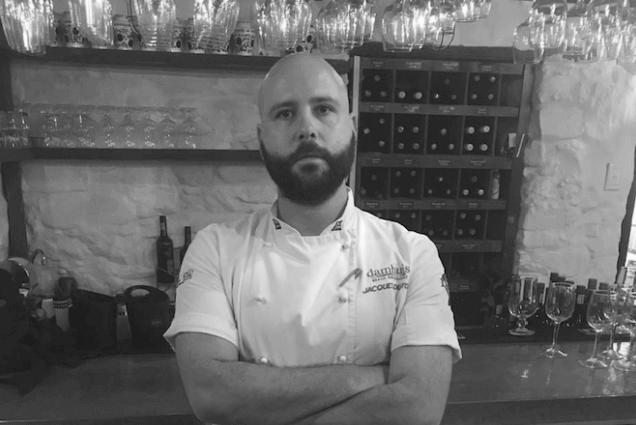 Sous Chef Jacques du Toit Damhuis Restaurant