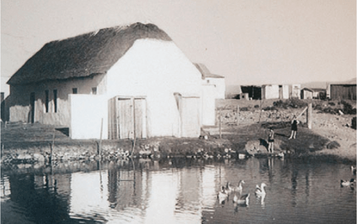 building of the visschuur damhuis: recipes and memories of a house