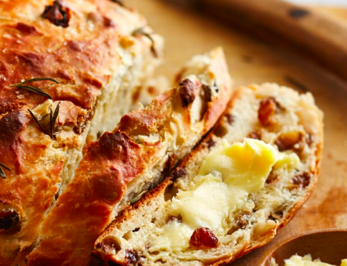 Raisin Bread Recipe from Damhuis: Recipes and Memories of a House